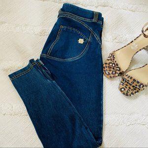 Freddy WRUP medium wash ankle zipper jeans size S